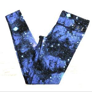 VS PINK Rare Leggings XS Galaxy Yoga Pants Skinny